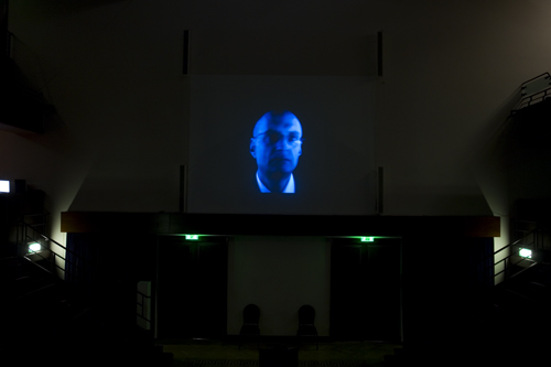 Prof. Chris Mason Faraday projection